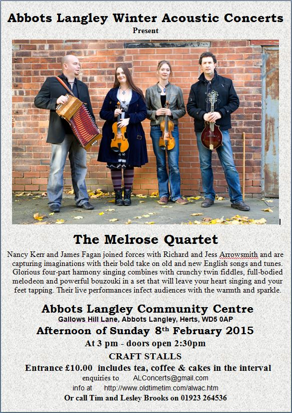The Melrose Quartet Image