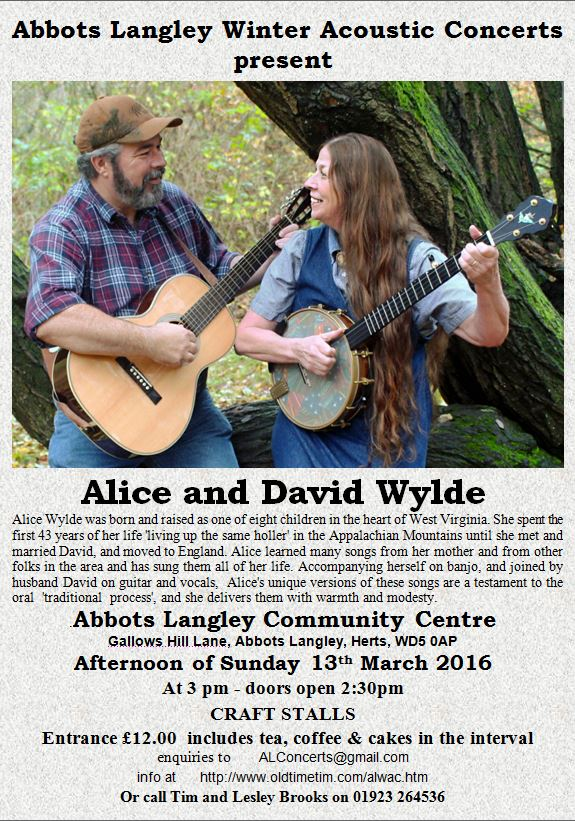 Alice and David Wylde image