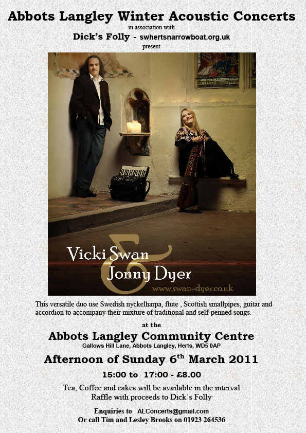 Swan & Dyer Poster