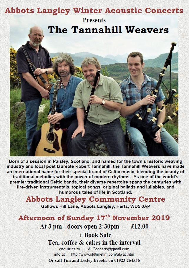 The Tannahill Weavers  poster